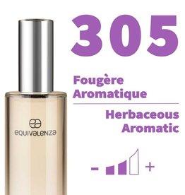 Equivalenza Eau de Parfum Fougère Aromatique 305