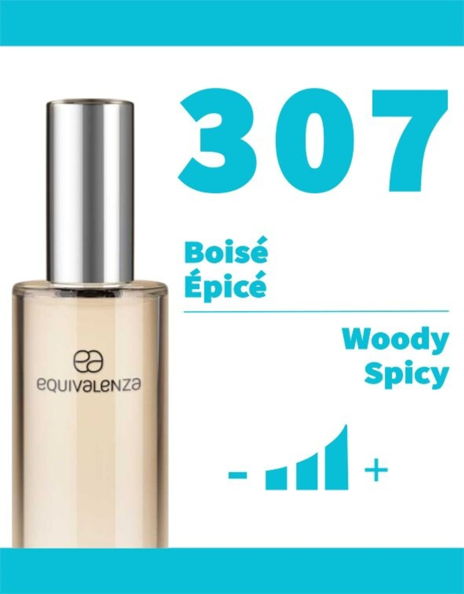 Equivalenza Woody Spicy 307