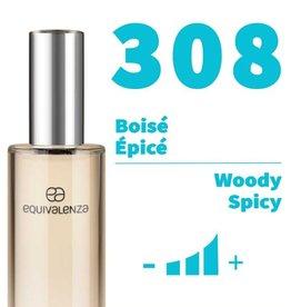 Equivalenza Eau de Parfum Woody Spicy 308