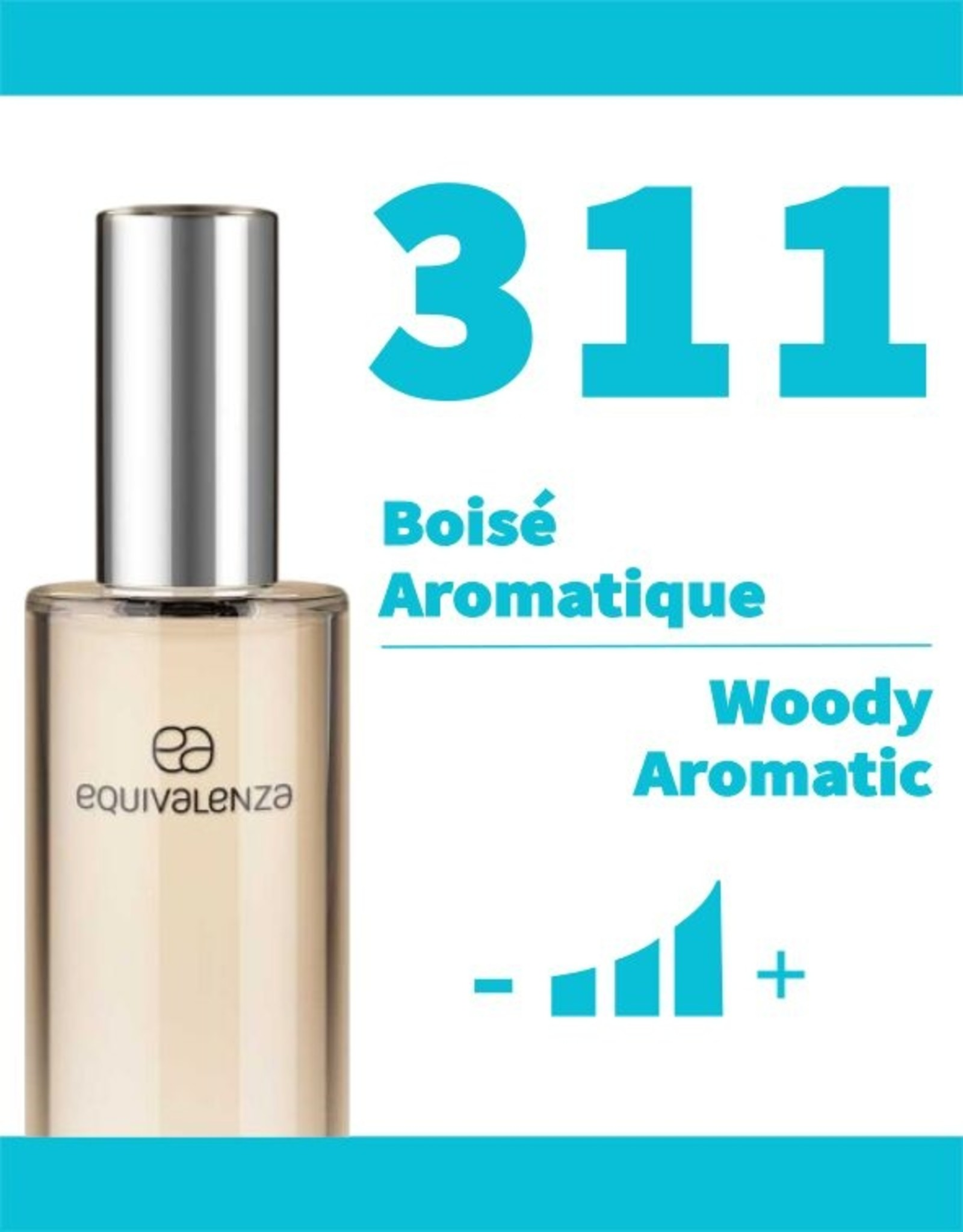 Equivalenza Eau de Parfum Woody Aromatic 311