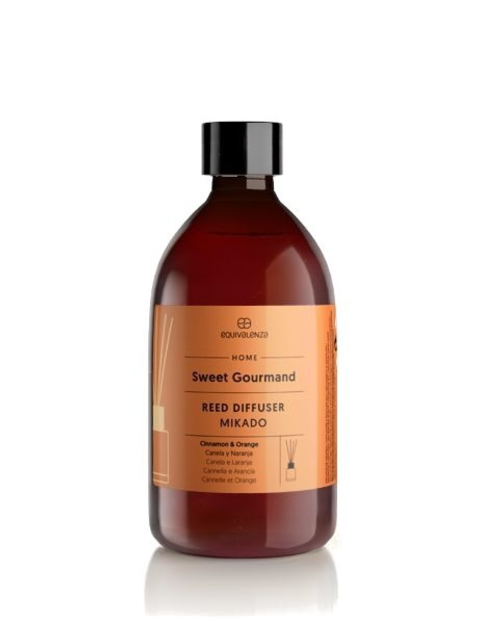 Equivalenza Refill for Reed Diffusers – Sweet Gourmand (orange and cinnamon)