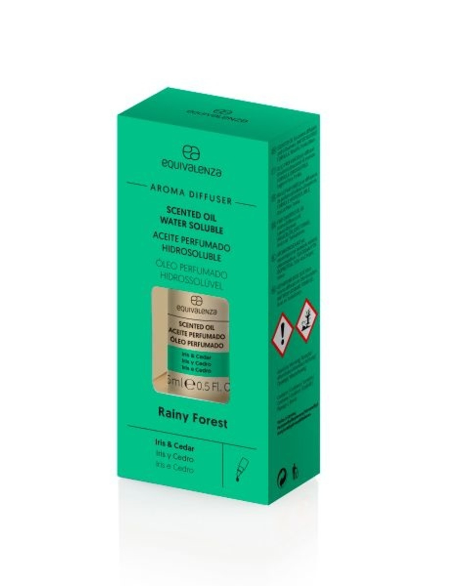 Equivalenza Water-Soluble Scented Oil  – Rainy Forest (iris and cedar)