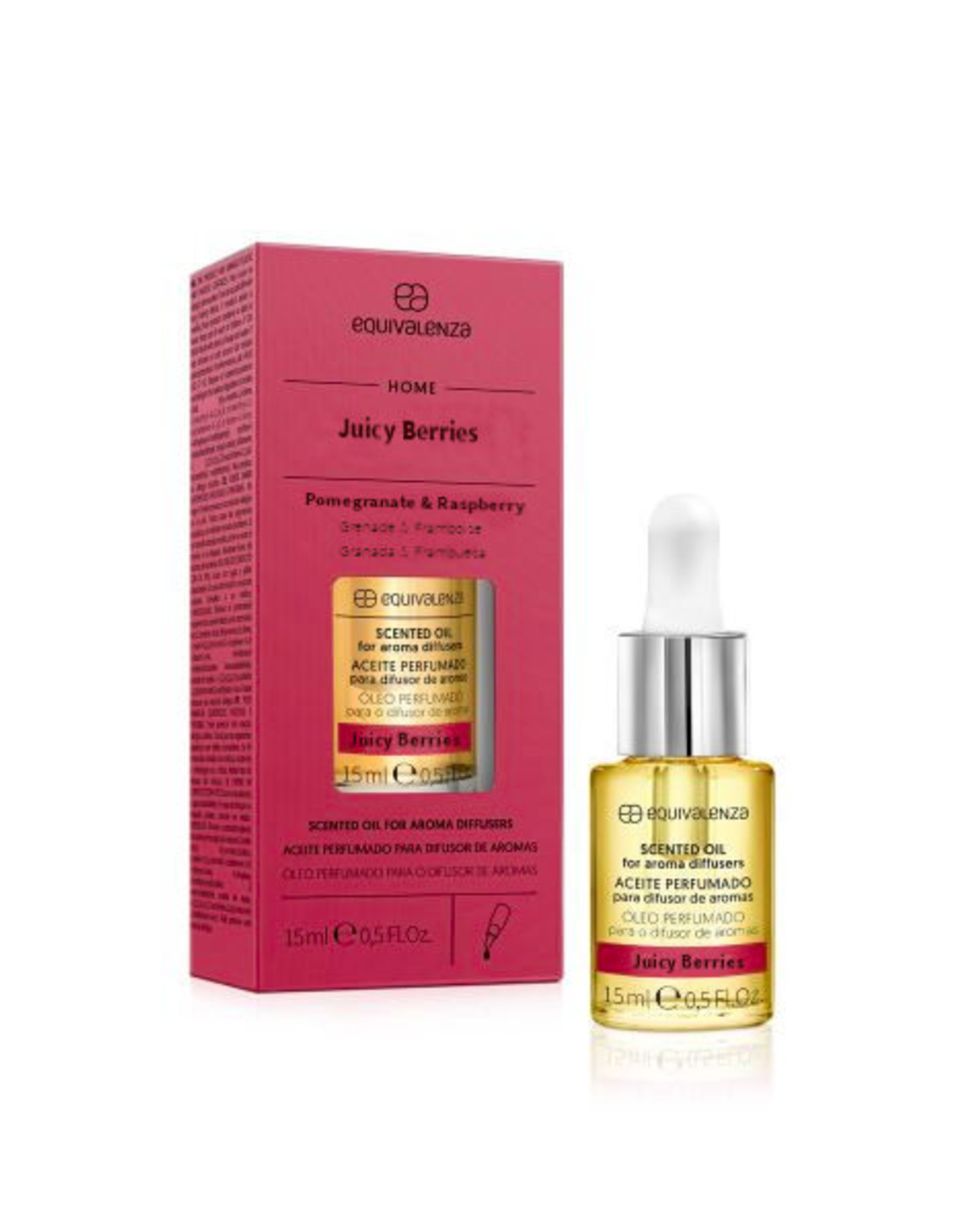 Equivalenza Huile Parfumée Hydrosoluble – Baies Juteuses (grenade et framboise)