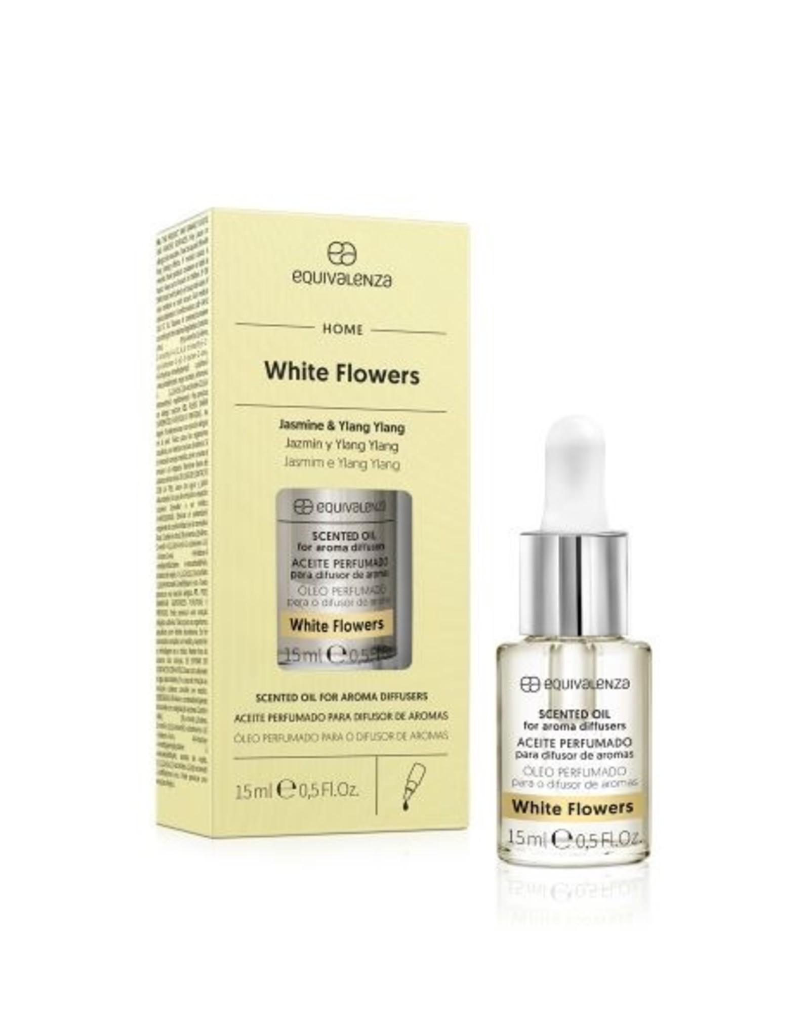Equivalenza Huile Parfumée Hydrosoluble – Fleurs Blanches (fleur d'oranger et fleurs blanches)