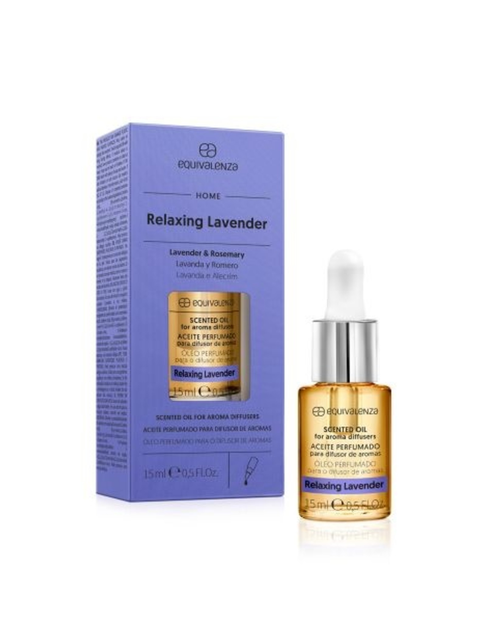 Equivalenza Water-Soluble Scented Oil – Relaxing Lavender (lavender and rosemary)