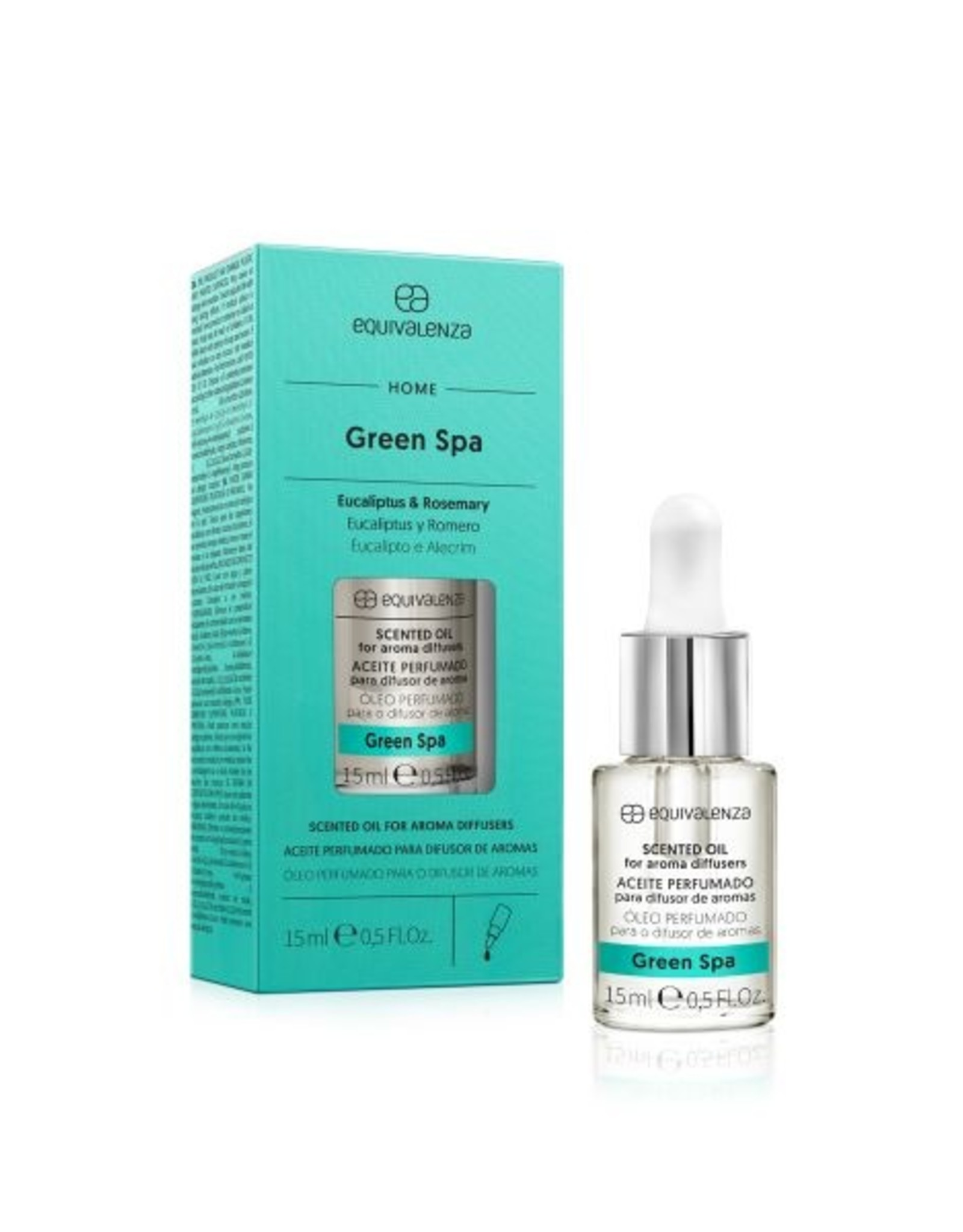 Equivalenza Essential Oil – Green Spa (eucalyptus and rosemary)