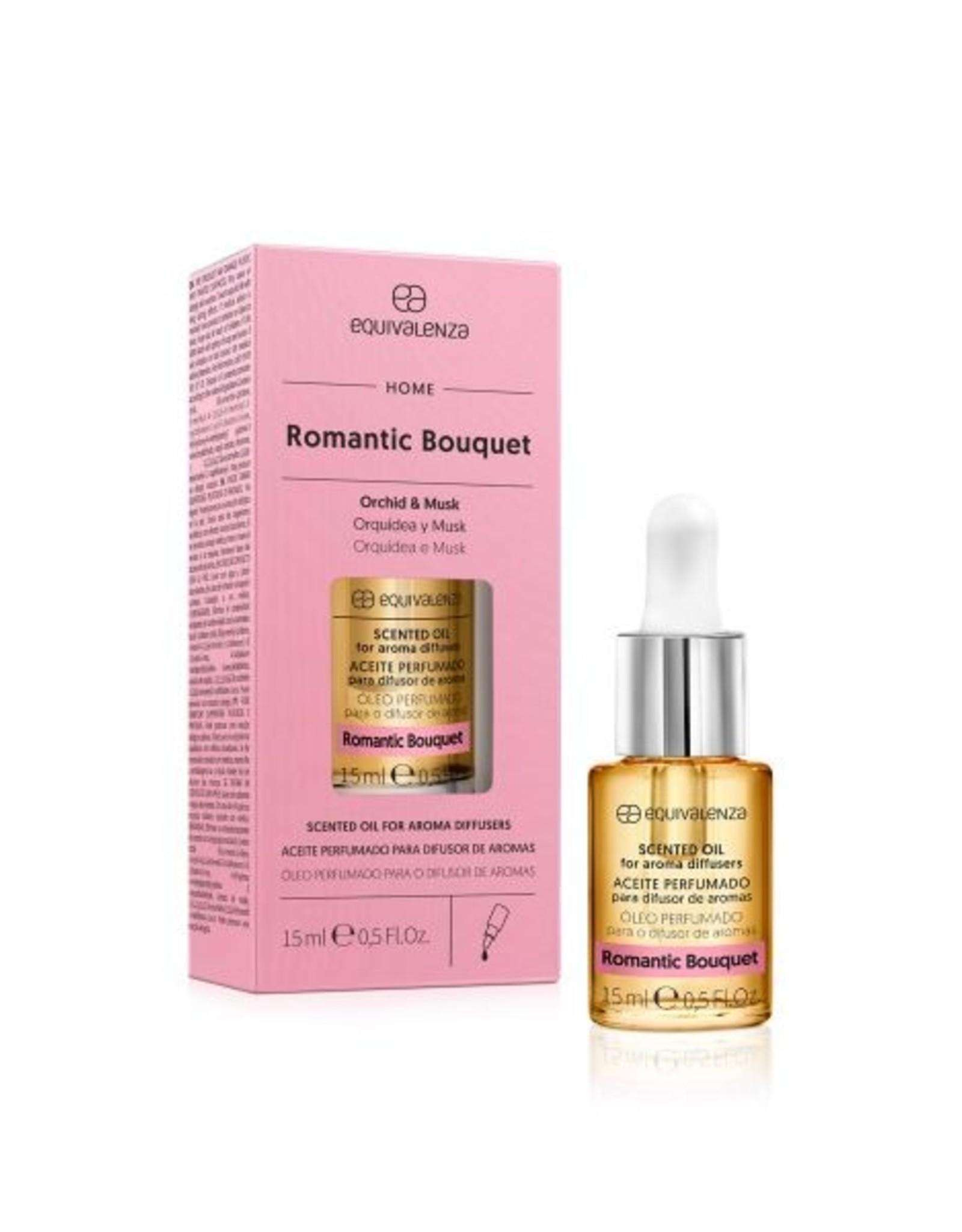 Equivalenza Huile Parfumée Hydrosoluble – Bouquet Romantique (orchidée et musc)