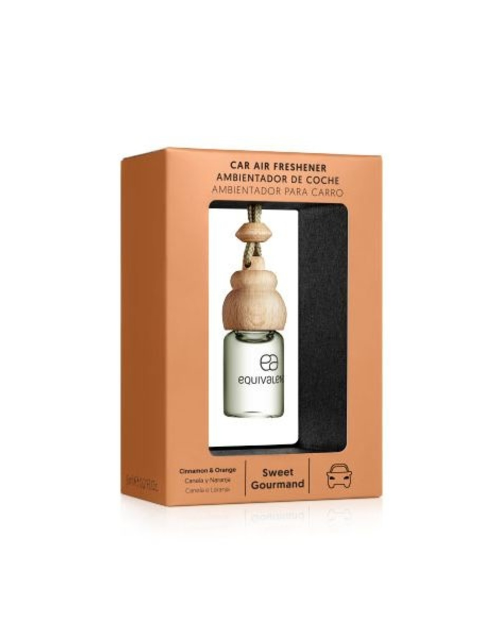 Equivalenza Car Air Freshener – Sweet Gourmand (orange and cinnamon)