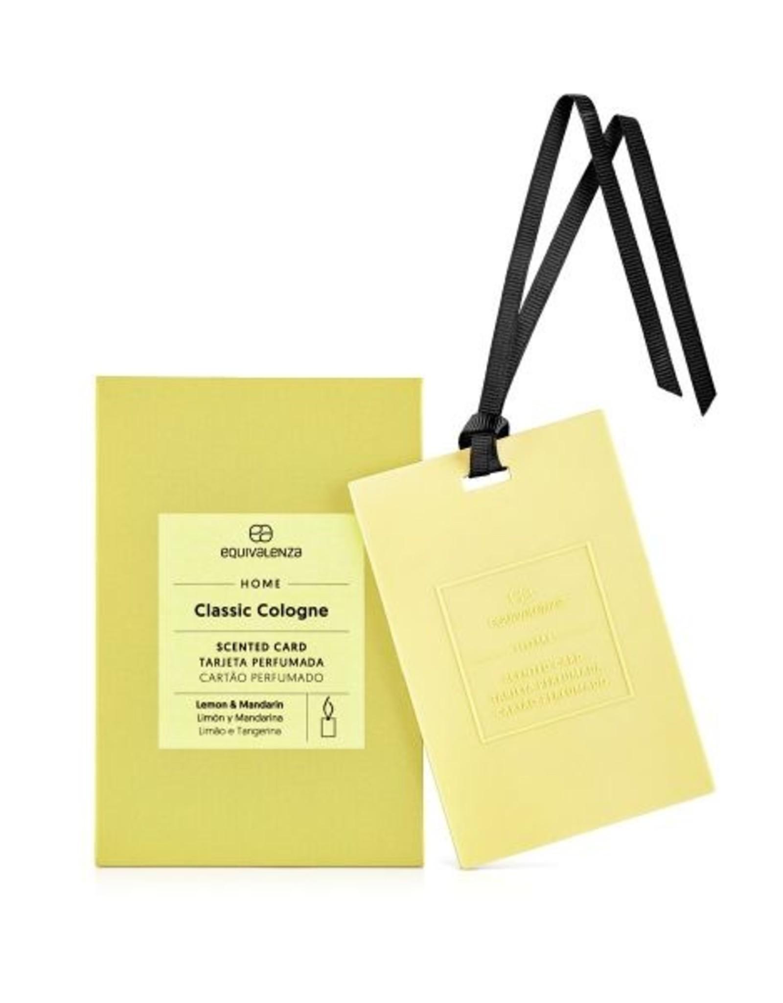Equivalenza Carte Parfumée – Cologne Classique (citron et mandarine)