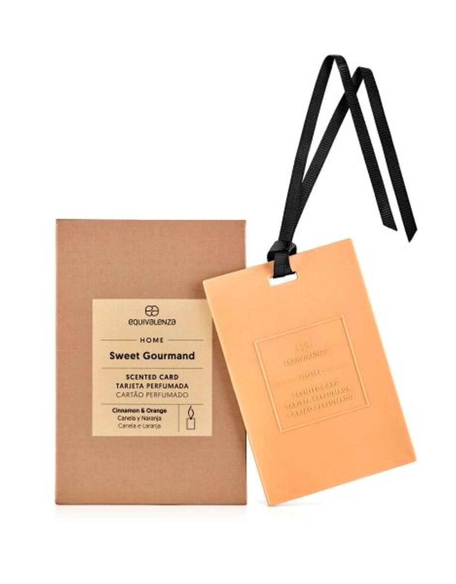 Equivalenza Carte Parfumée – Gourmand Sucré (cannelle et orange)