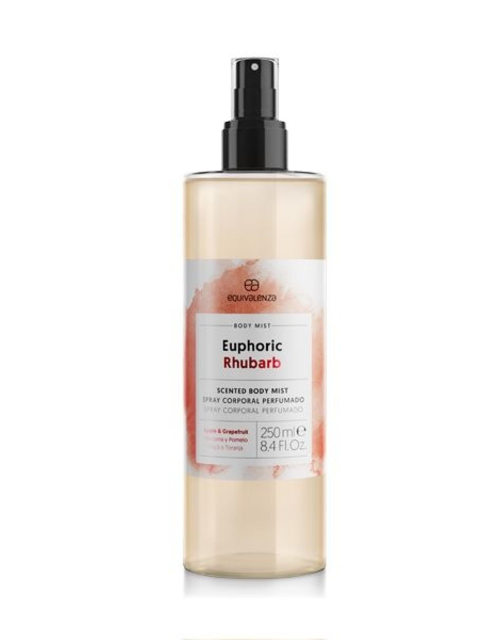 Equivalenza Euphoric Rhubarb Body Mist