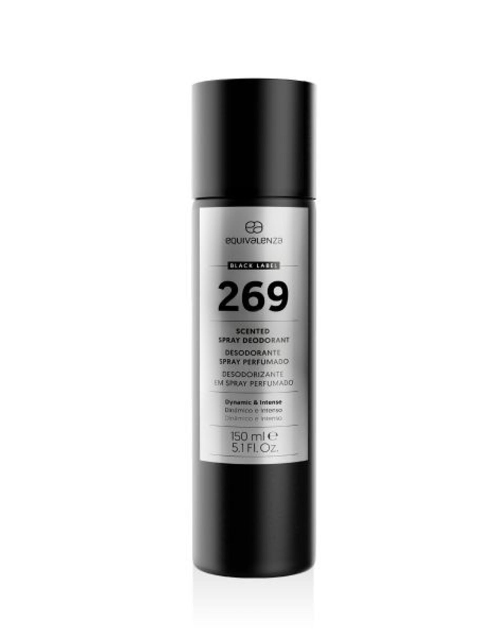 Equivalenza Black Label Deodorant 269