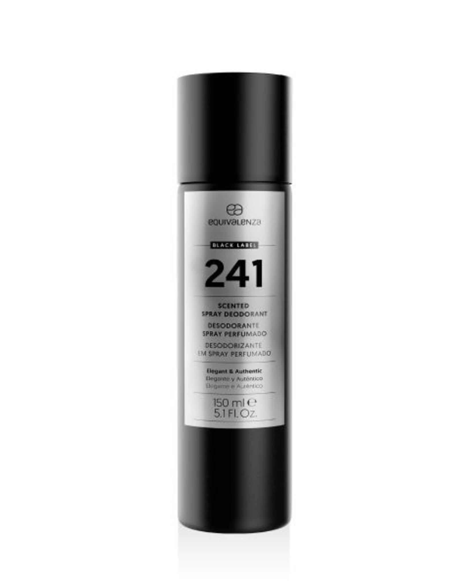 Equivalenza Black Label Deodorant 241