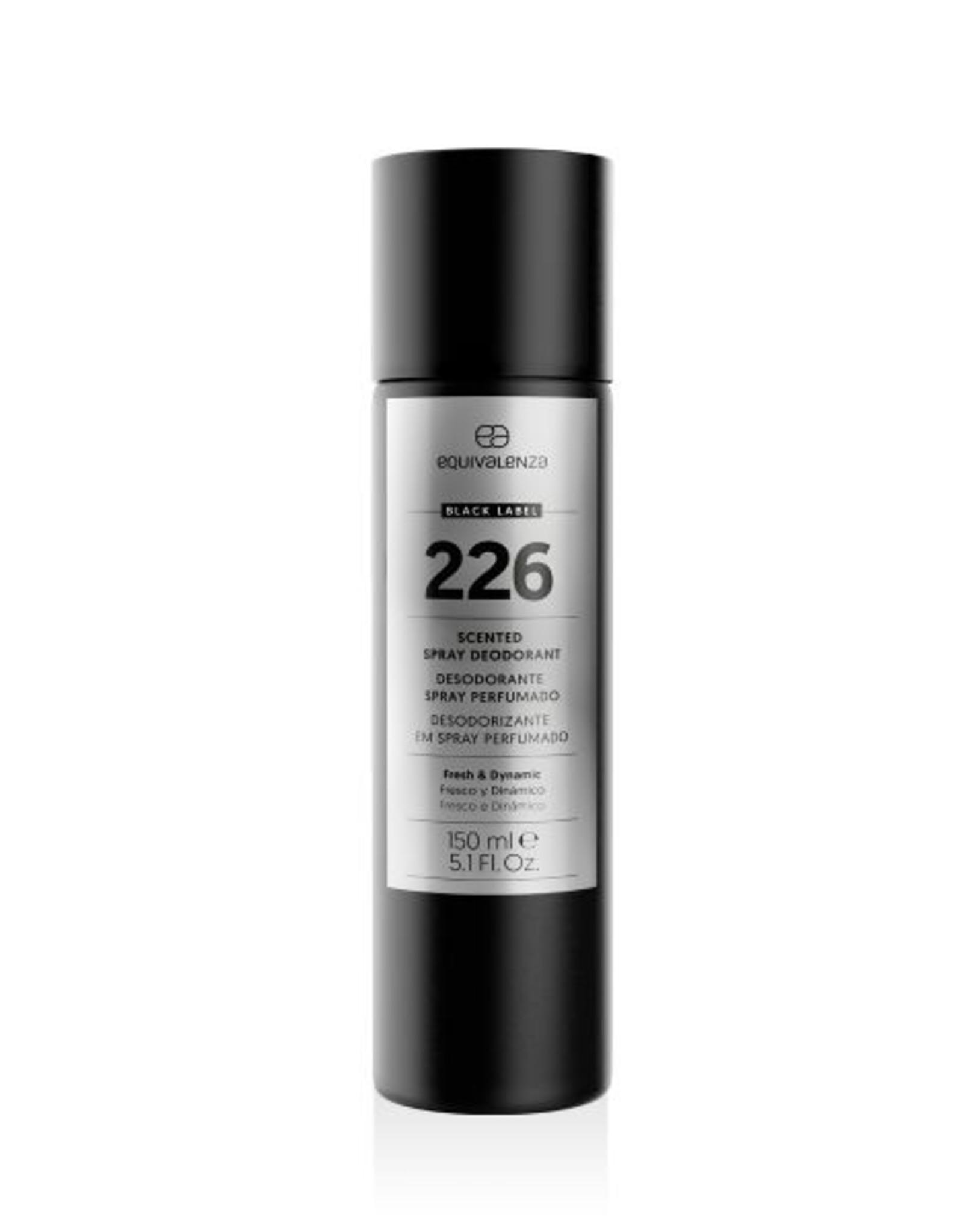 Equivalenza Black Label Deodorant 226