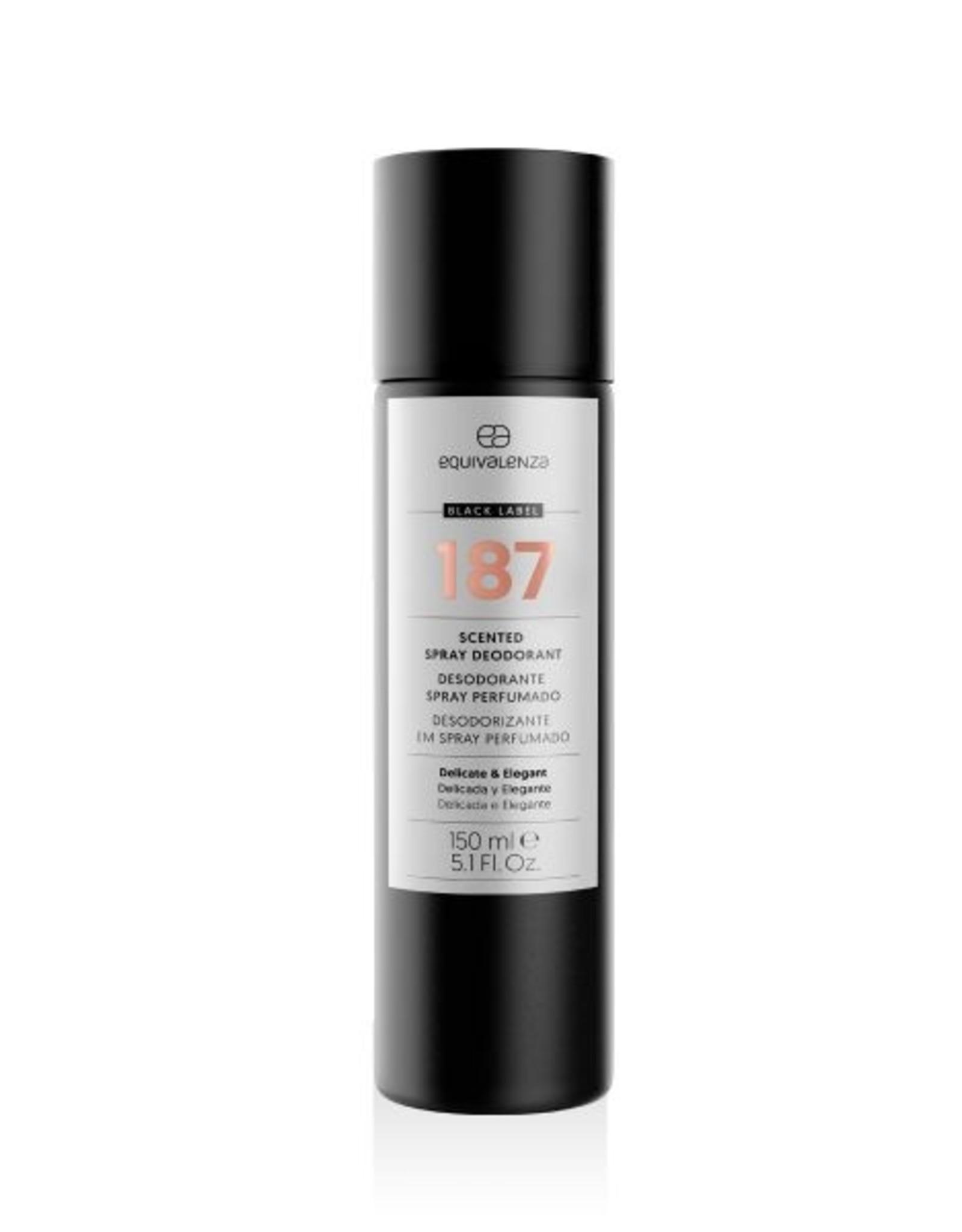 Equivalenza Black Label Deodorant 187