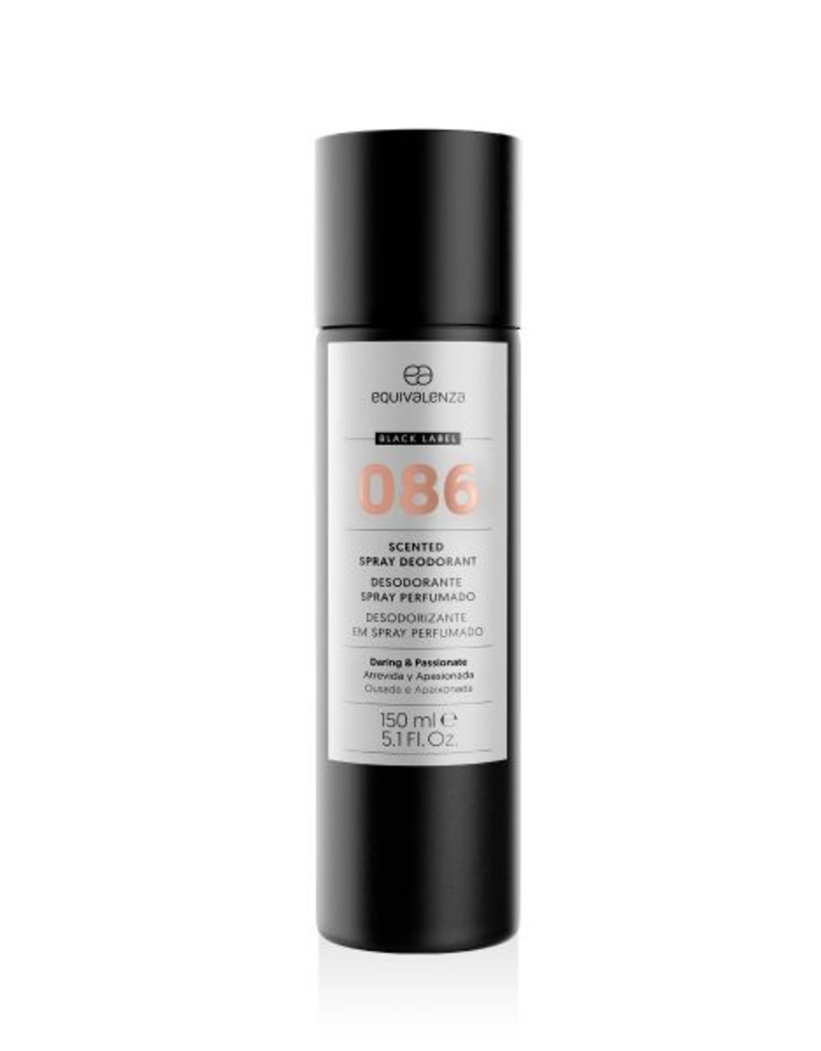Equivalenza Black Label Deodorant 086