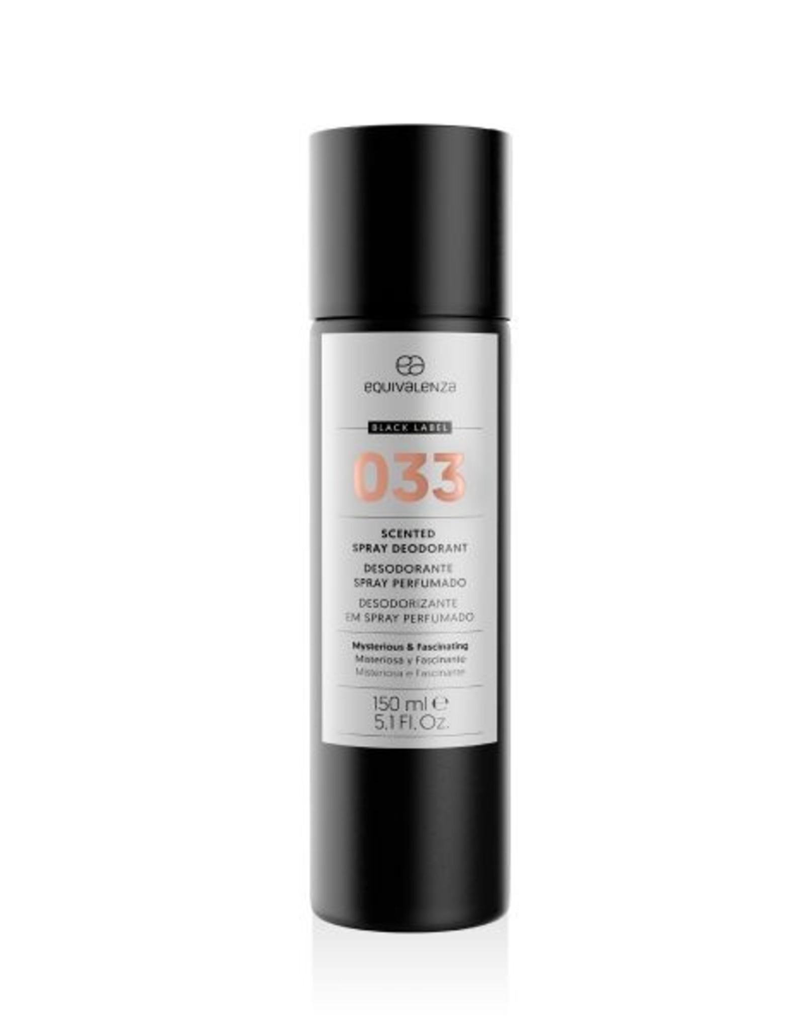 Equivalenza Black Label Deodorant 033