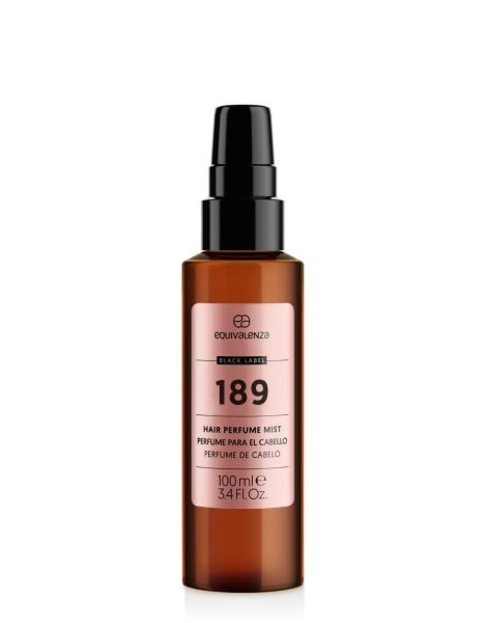 Equivalenza Parfum pour Cheveux Black Label 189