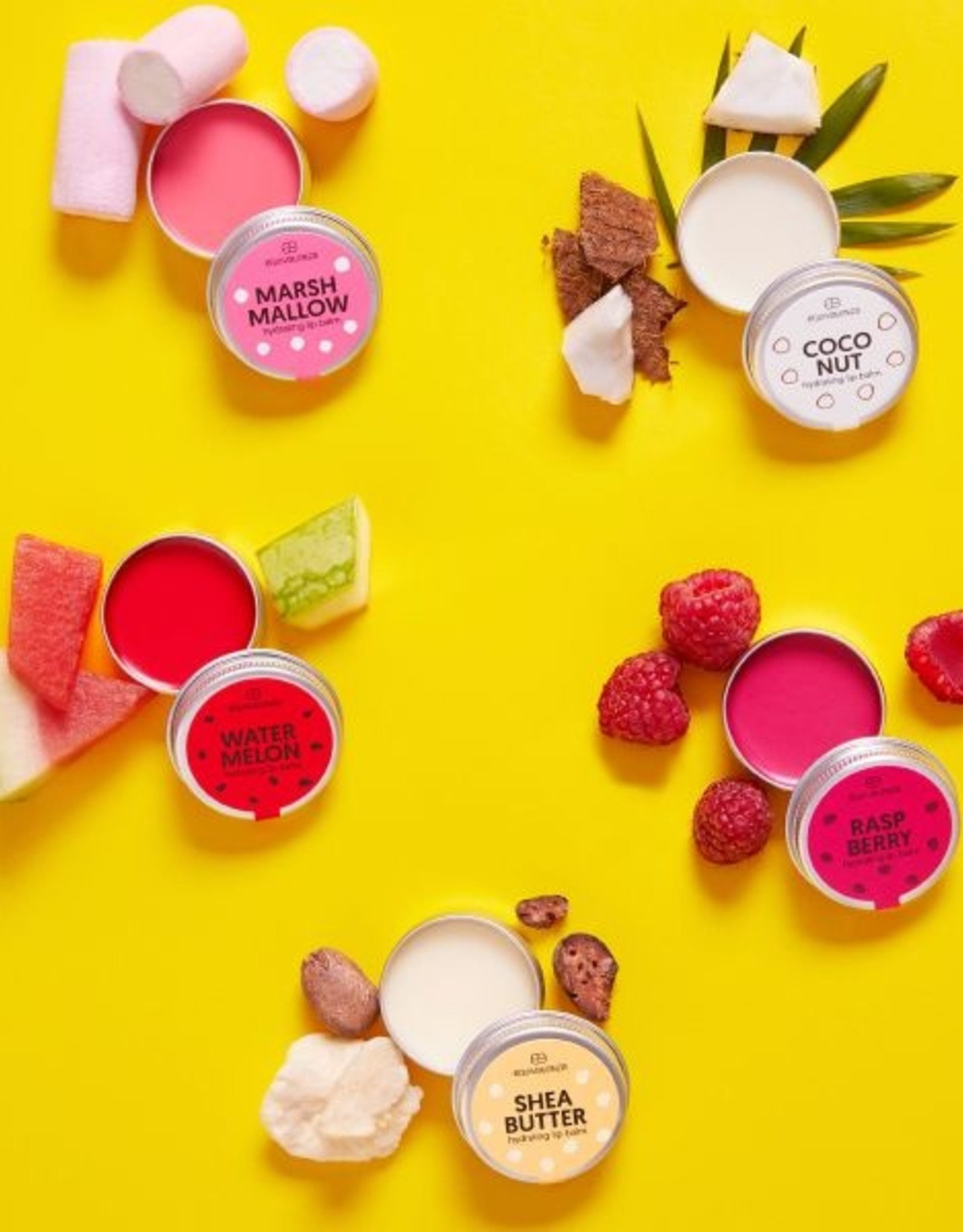 Equivalenza Raspberry Lip Balm Pot