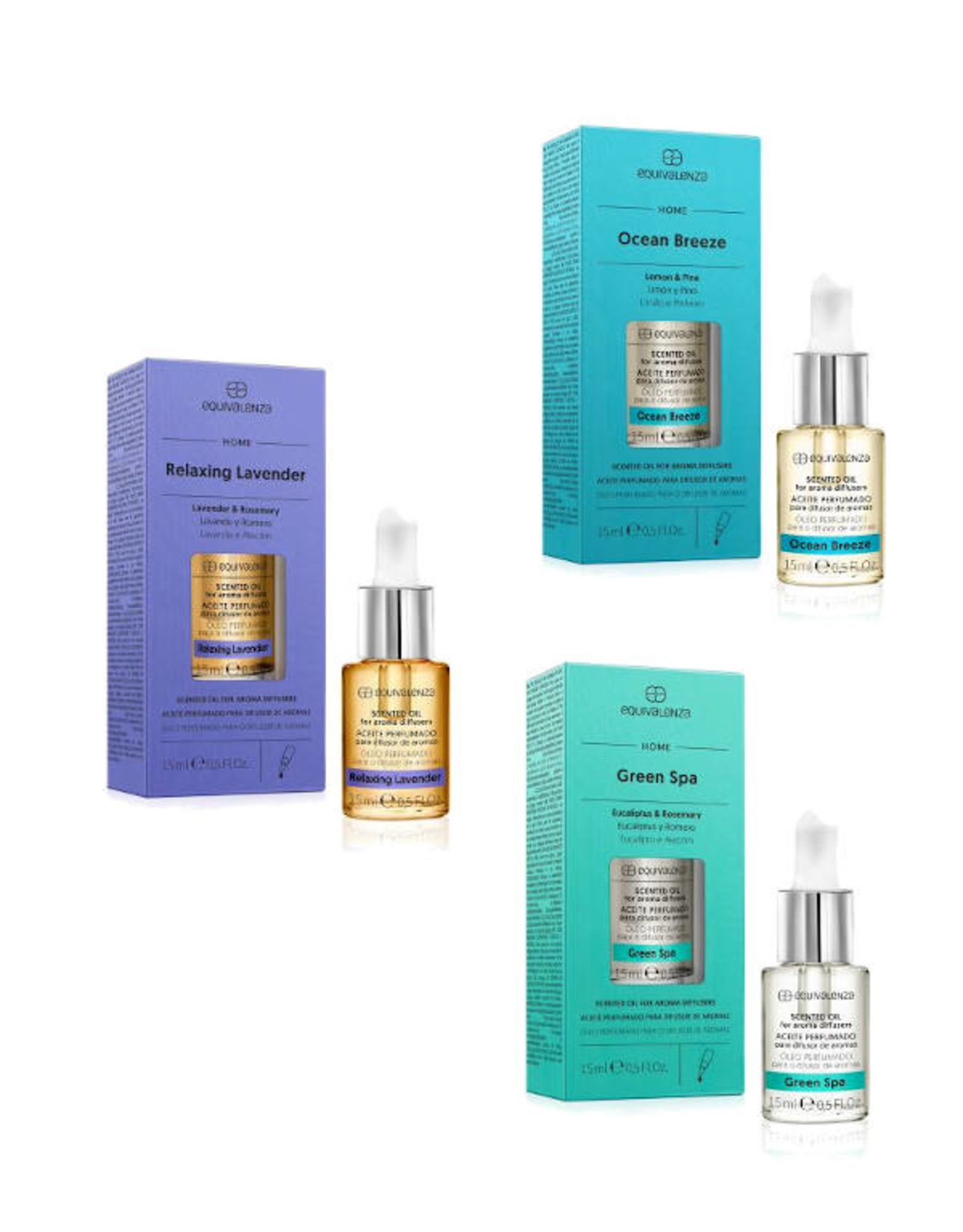 Equivalenza BUNDLE - Relaxation -  3 x Essential Oils