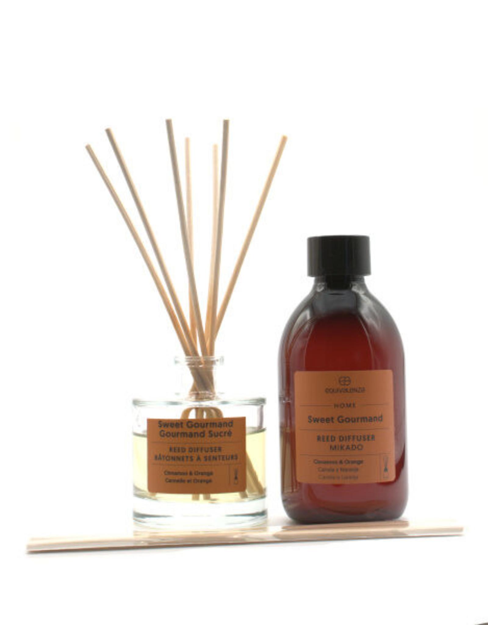 Equivalenza BUNDLE - Mikado & Refill - Sweet Gourmand (orange and cinnamon)