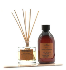 Equivalenza BUNDLE - Mikado & Refill - Sweet Gourmand (orange and cinnamon)