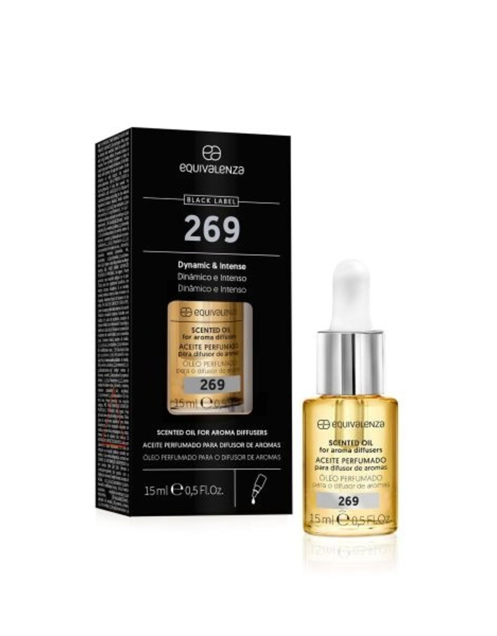 Equivalenza Huile Essentielle Parfumée Hydrosoluble – Black Label nº 269