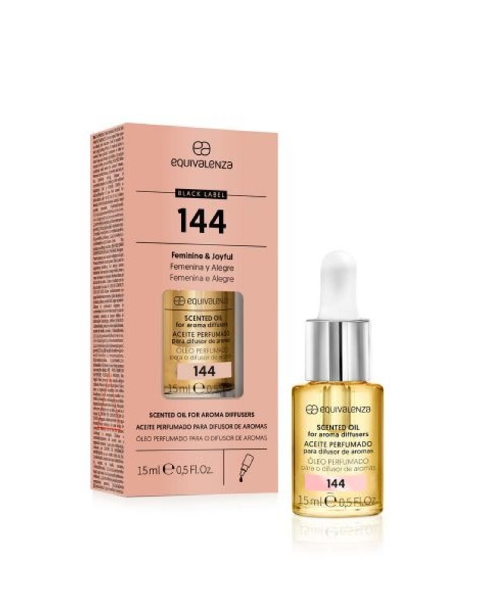 Equivalenza Huile Parfumée Hydrosoluble – Black Label nº 144