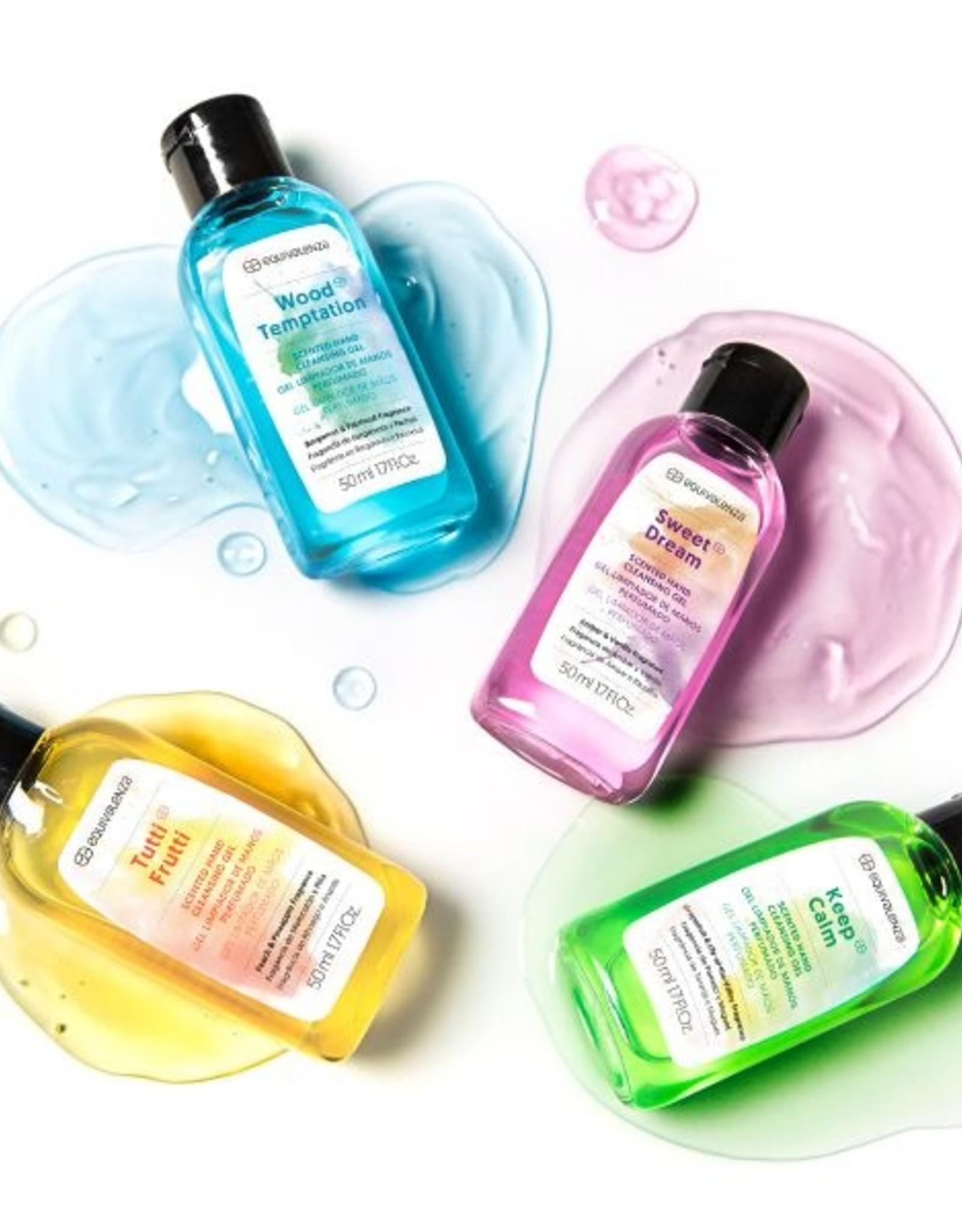 Equivalenza Gel Nettoyant Parfumé Pour Les Mains - Tentation Bois