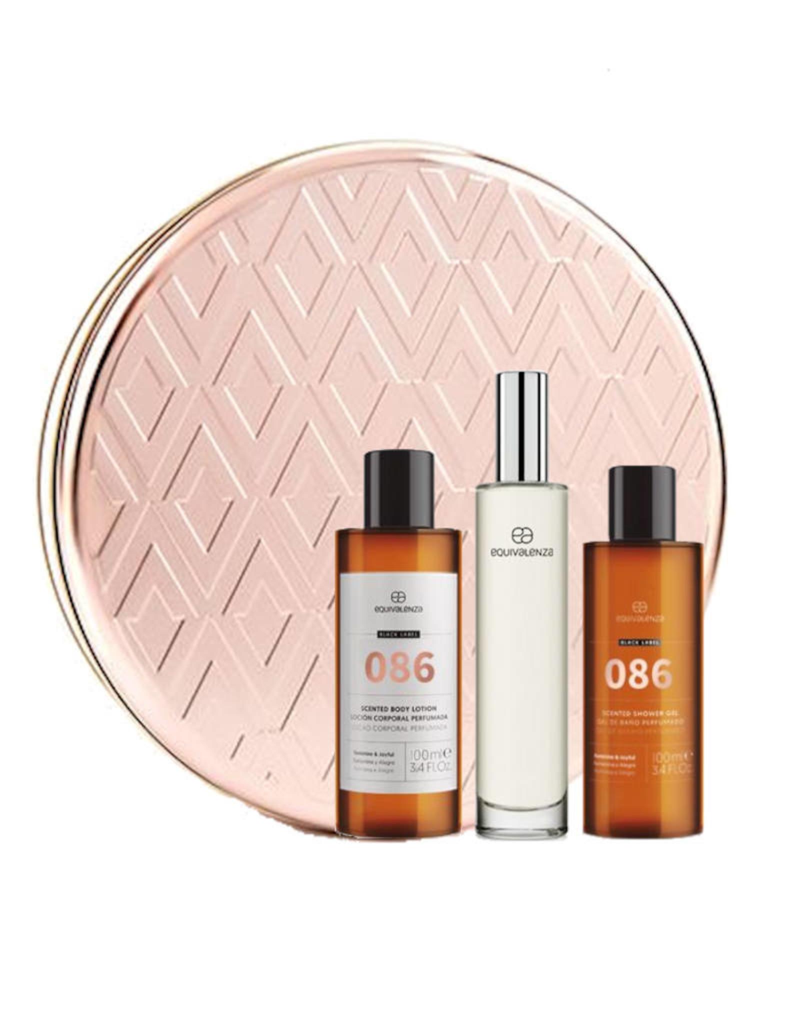 Equivalenza Coffret Cadeau - Parfum - Gel Douche - Lotion Corporelle -086