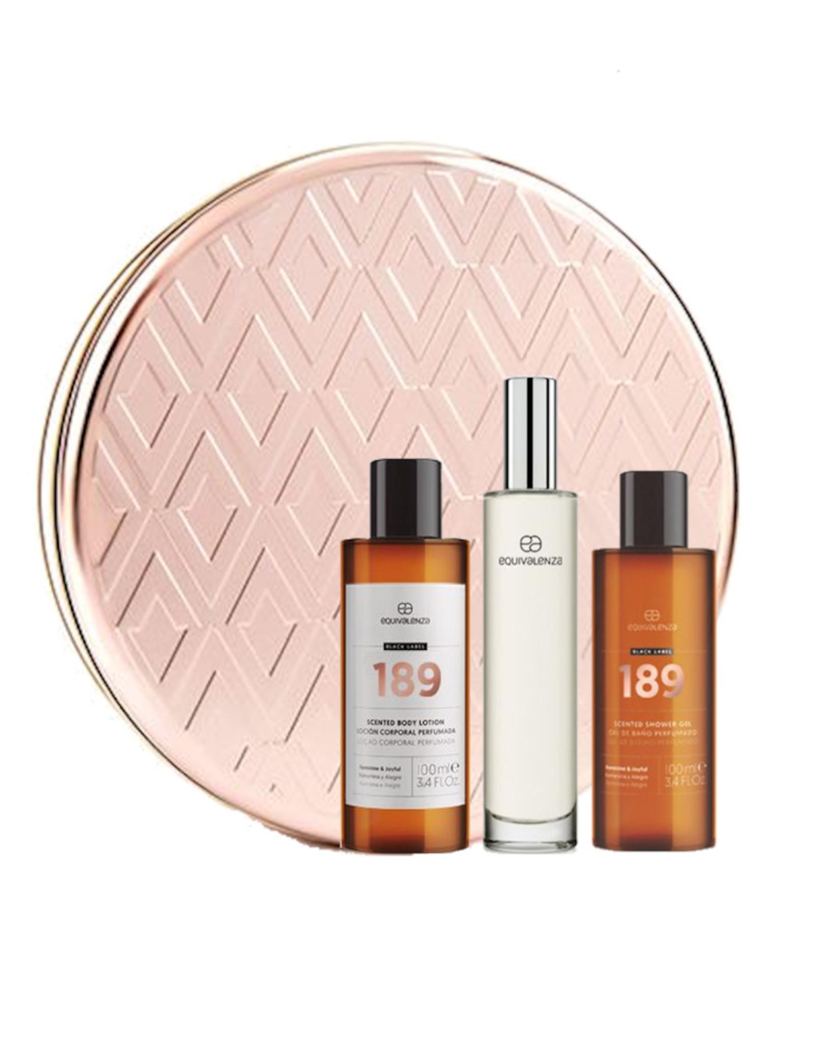 Equivalenza Gift Box - Perfume - Shower Gel - Body Lotion -189
