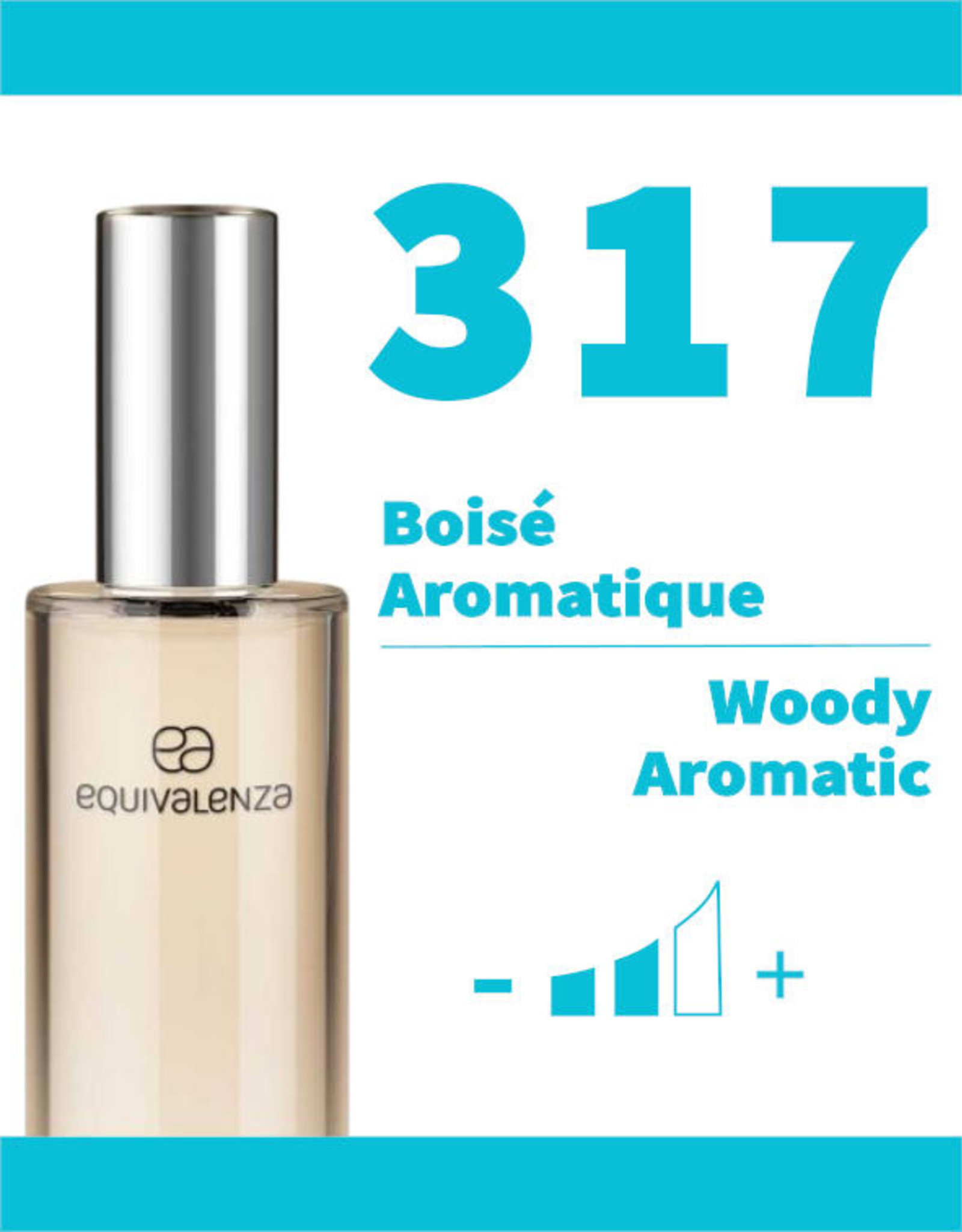Equivalenza Eau de Parfum Woody Aromatic 317