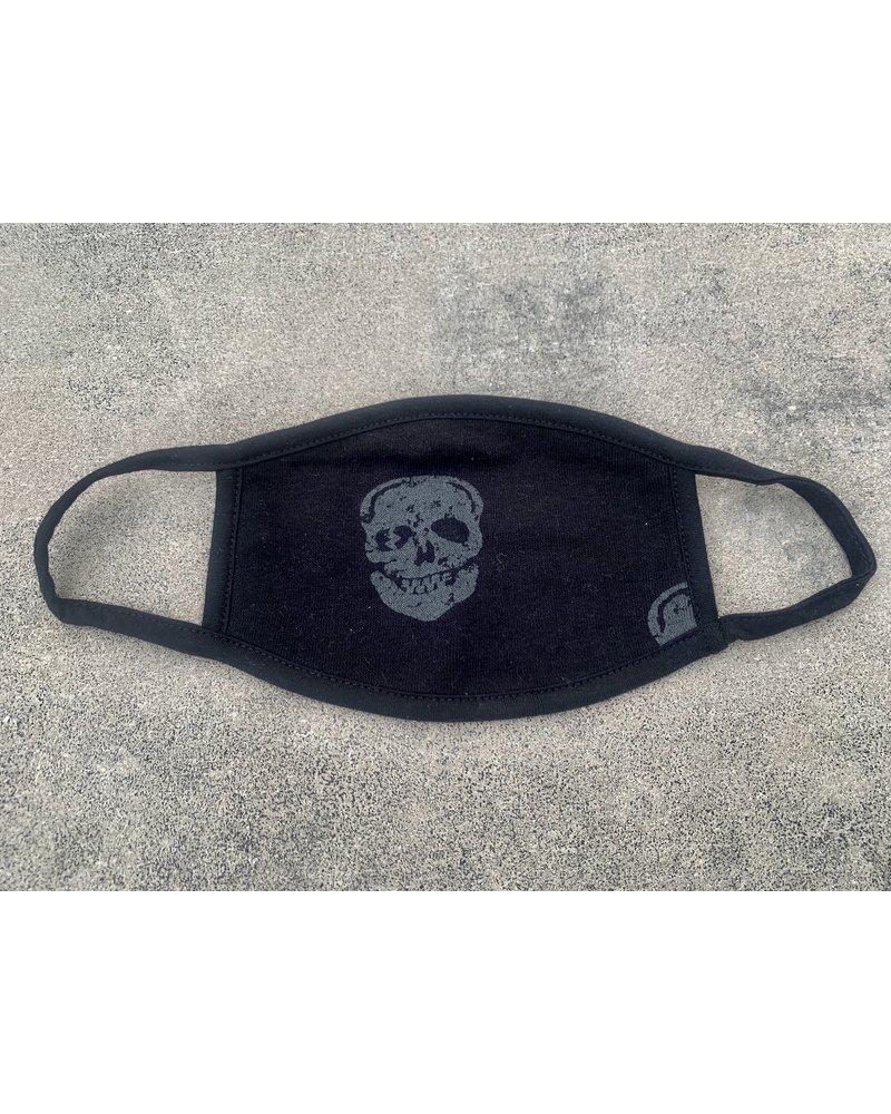 Vintage Havana Black Skull Mask