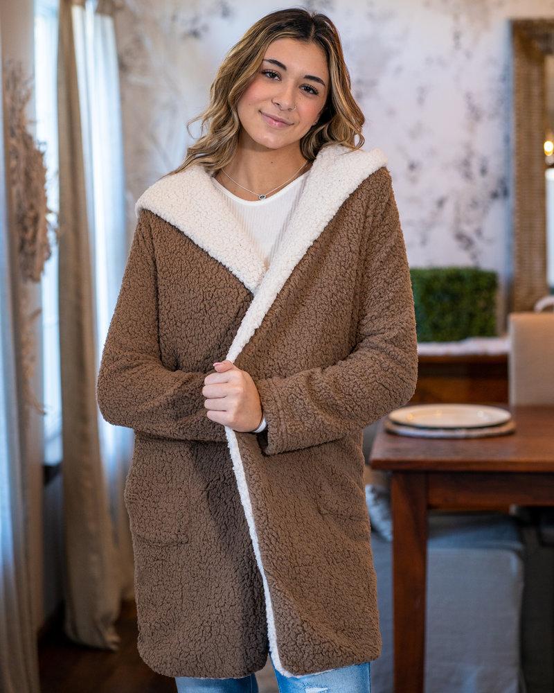 She+Sky Sherpa Bear Coat