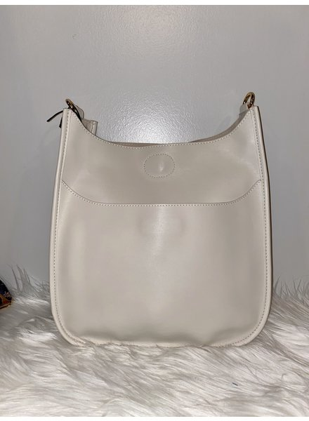 Ahdorned Faux Leather Bag