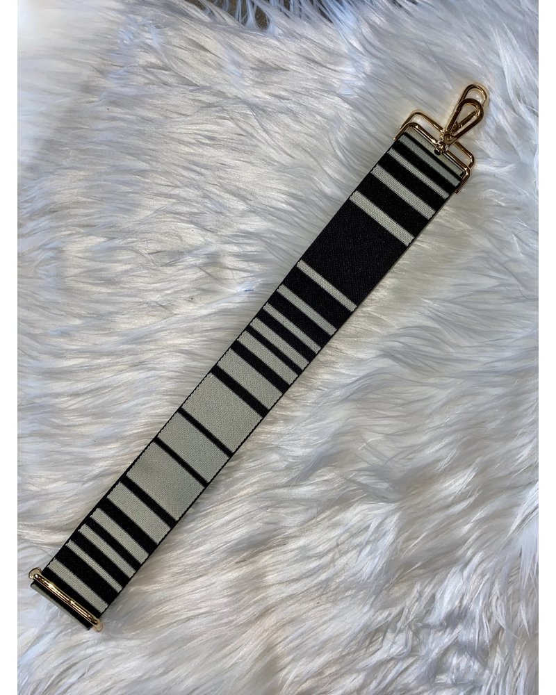 Ahdorned Striped Designed Straps