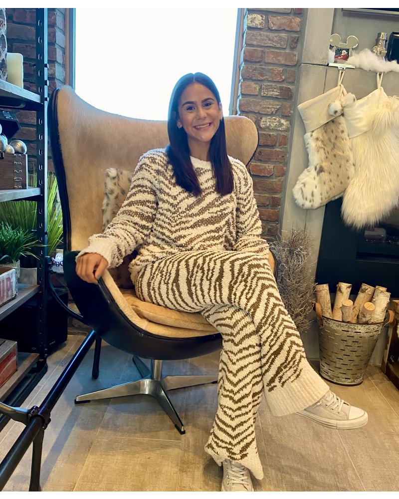 Pol Zebra Lounge Pants