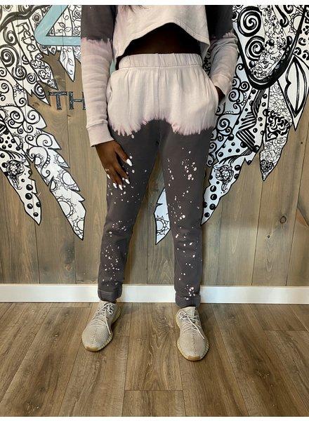 Le Lis Bleached Tie Dye Sweatpants