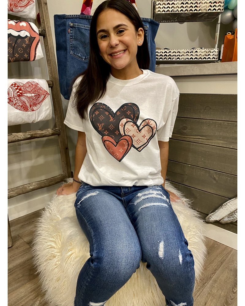 Designer Heart T-Shirt