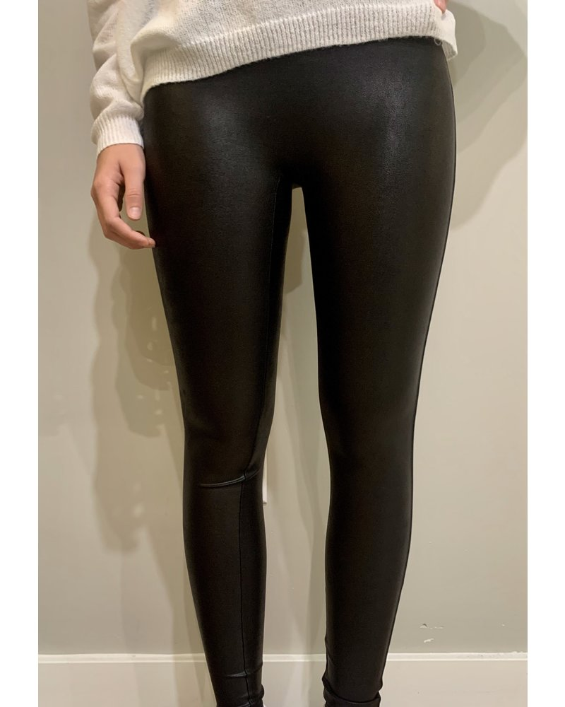 Spanx Faux Leather High Waisted Leggings