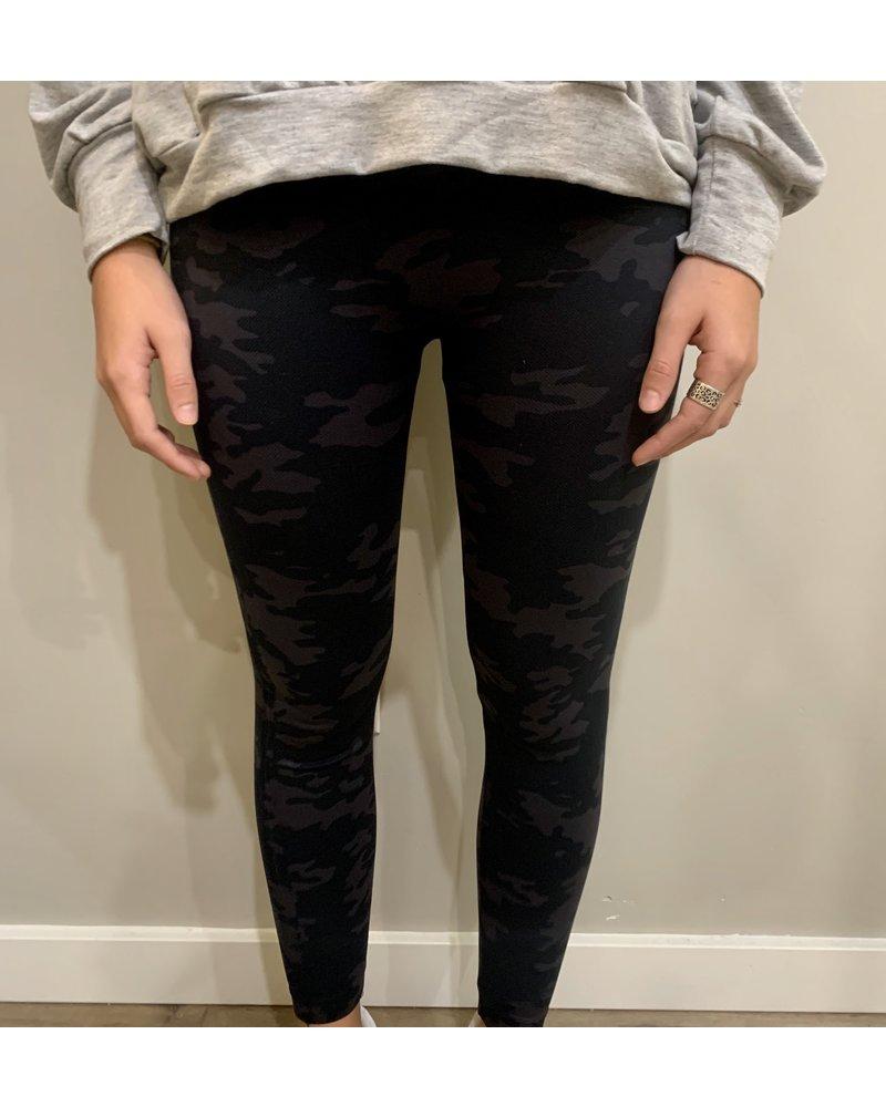 Spanx Dark Camo Leggings