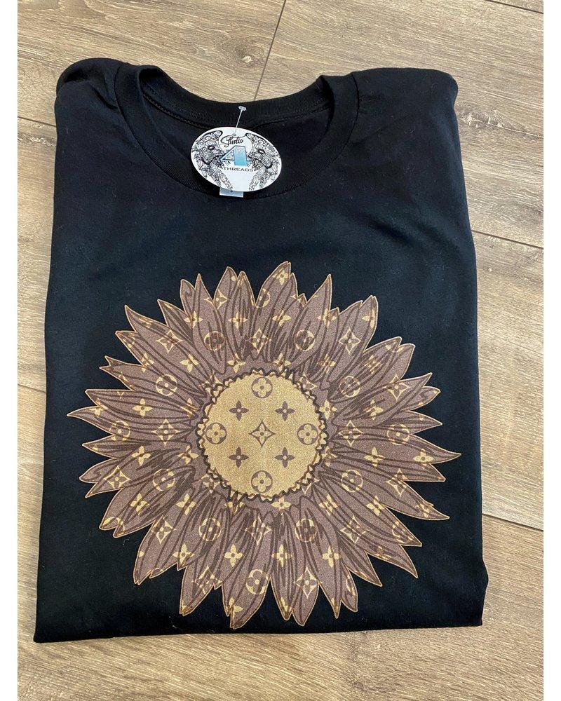 Designer Sunflower T-Shirt