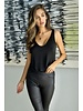 venti6 Ruched Bottom Tank Top
