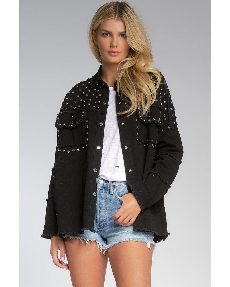 Elan Studded Army Jacket