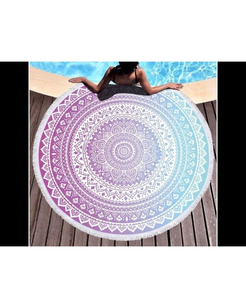 Peace Love Fashion Tie Dye Beach Towel