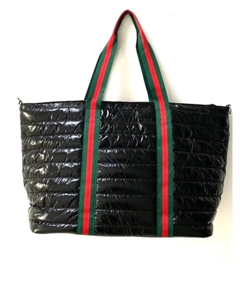 Peace Love Fashion Inspired Puffer Bag