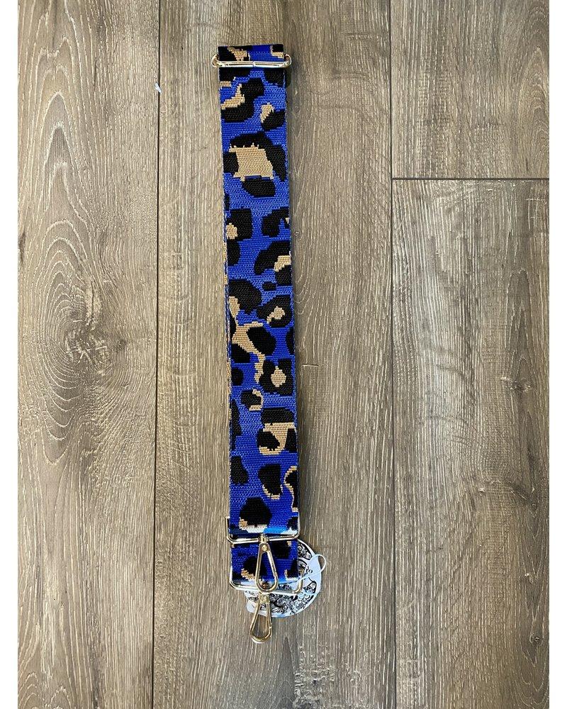 Ahdorned Leopard Bag Strap