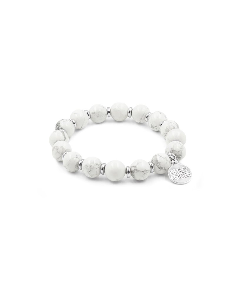 Kinsley Armelle Farrah Silver Pepper Bracelet