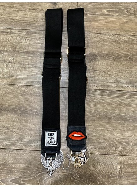 Ahdorned The Patch Straps