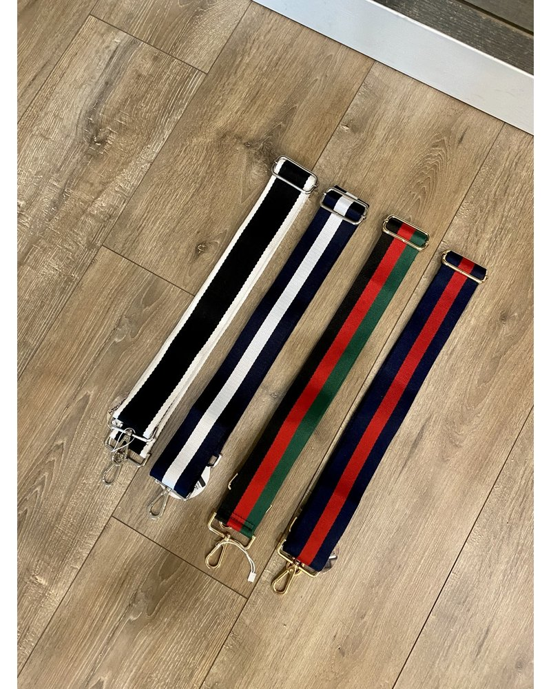 Ahdorned G Striped Bag Straps